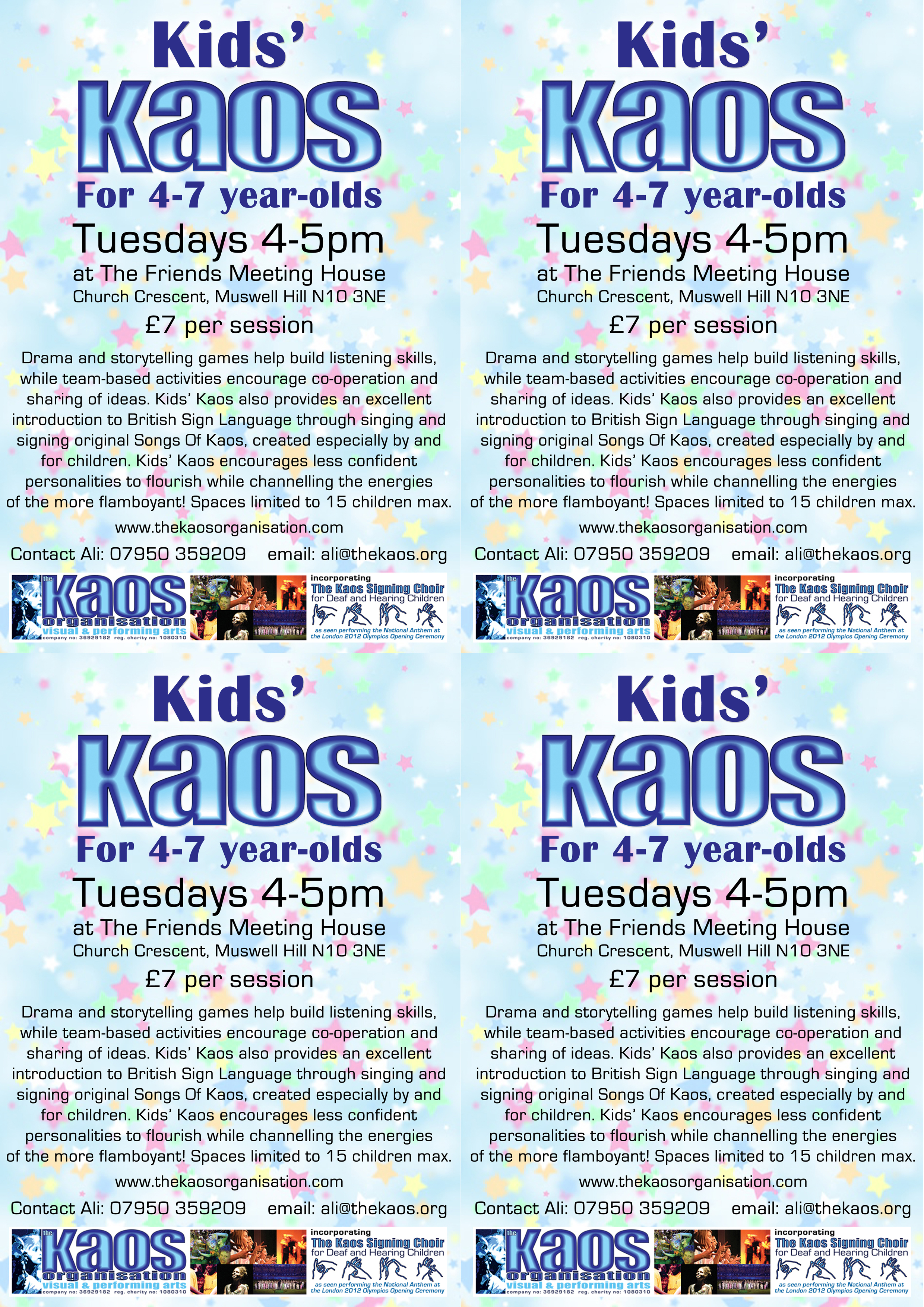 The Kaos Organisation - News